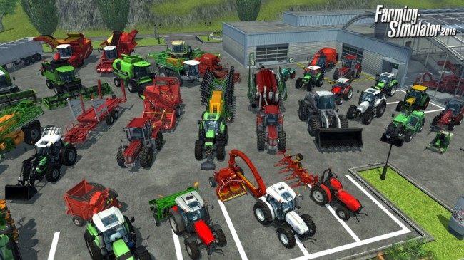 farming simulator 2013 screen2