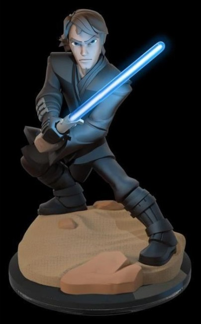 figurine ligth up anakin skywalker disney infinit