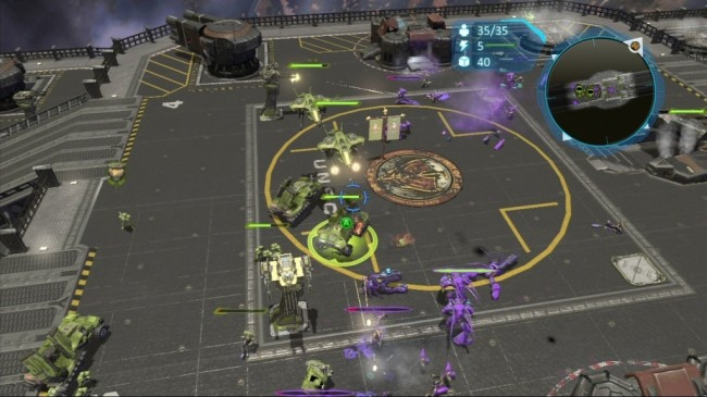 Halo Wars screen1