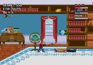 home alone megadrive 007