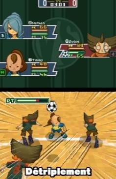 inazuma eleven screen2