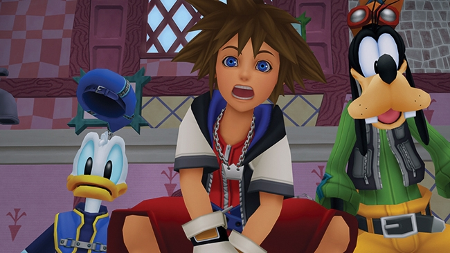 kingdom hearts 1 5 screen1