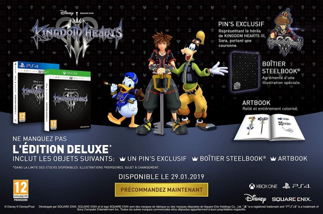 Kingdom Hearts 3 0 Deluxe Edition