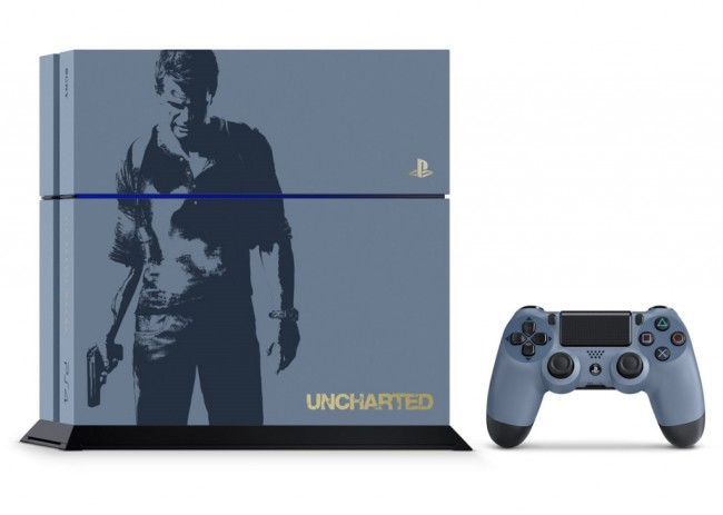 limited edition uncharted 4 ps4