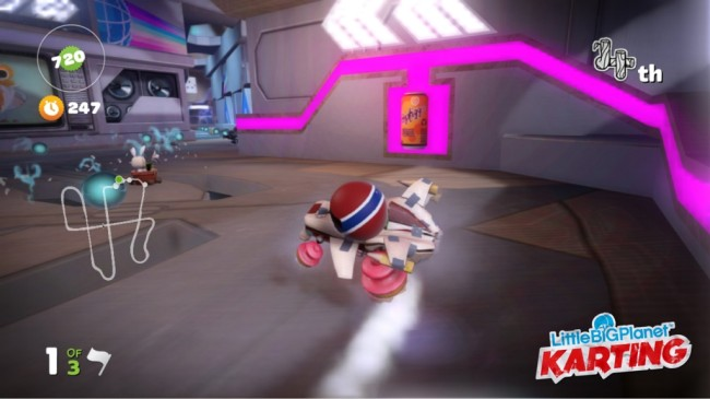 little big planet karting screen1