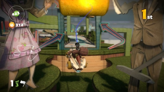 little big planet karting screen5