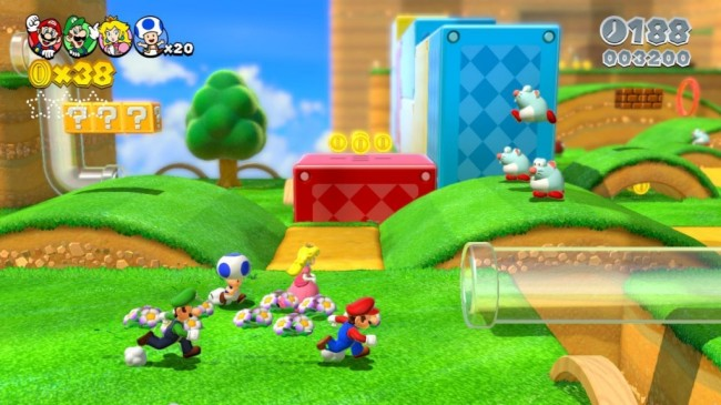 Mario 3D World screen1