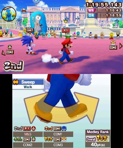 Mario Sonic Aux Jeux Olympiques De Londres 2012
