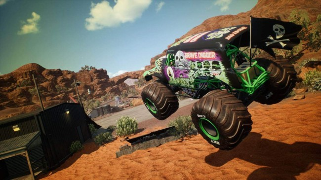 Monster Jam Steel Titans 1