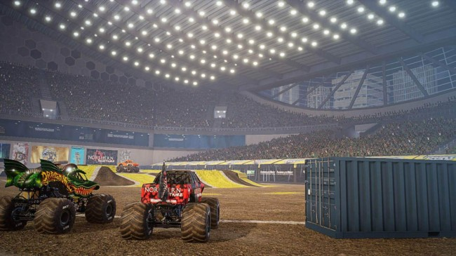 Monster Jam Steel Titans 3