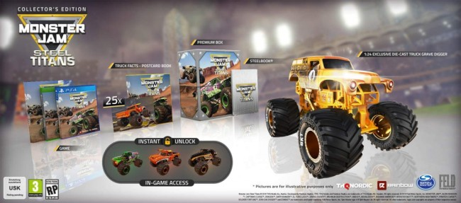 Monster Jam Steel Titans Collector 1