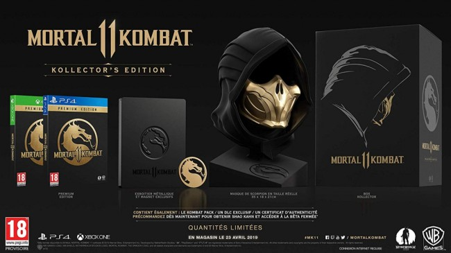 Mortal Kombat 11 COLL PS4 1