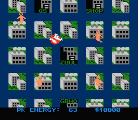 NES GHOSTBUSTERS 3