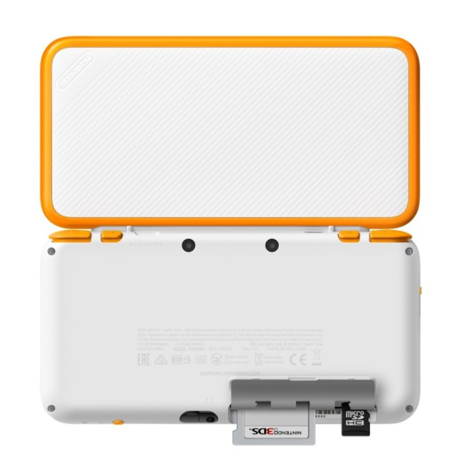 Console new nintendo 2ds xl blanc orange en boite 3ds console occasion pas cher gamecash - Console nintendo 3ds xl occasion ...