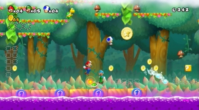 new super mario bros wii SCREEN 2