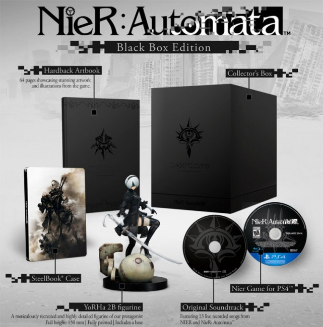 NIER AUTOMATA Black Box coffret collector ps4