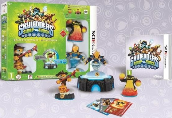 pack de demarrage skylanders swap force jeu 3ds