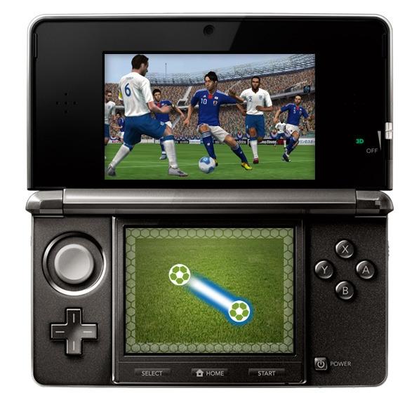 pro evolution soccer 2012 3d 3ds jeux occasion pas cher gamecash. Black Bedroom Furniture Sets. Home Design Ideas