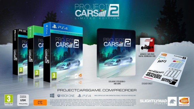 Project Cars 2 edition limitée xbox one (2)