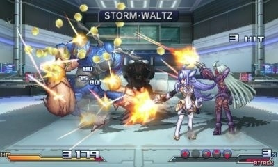 Project X zone screen2