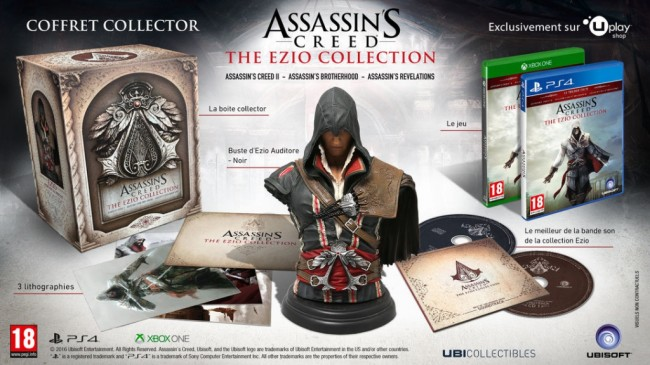 PS4 ASSASSIN CREED THE EZIO COLLECTION COLLECTOR 1
