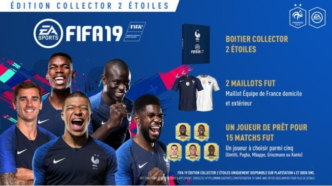 PS4 FIFA 19 EDITION COLLECTOR 2 ETOILES 1