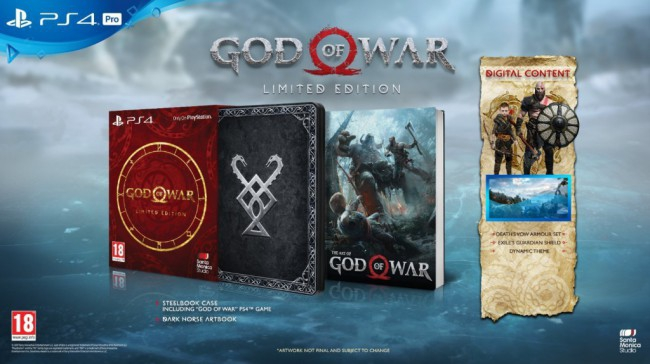 PS4 GOD OF WAR EDITION LIMITEE 1