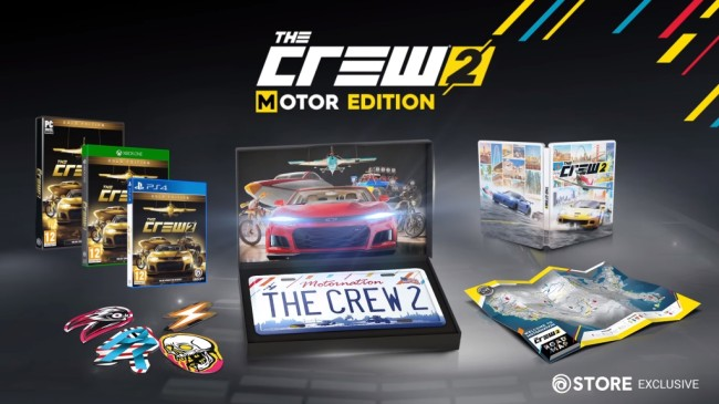 PS4 THE CREW 2 EDITION MOTOR