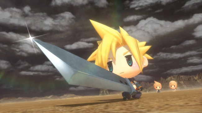 PS4 WORLD OF FINAL FANTASY 3