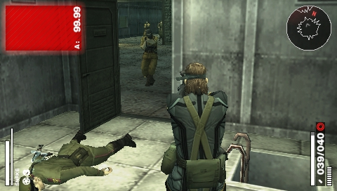 PSP METAL GEAR SOLID PORTABLE OPS 2