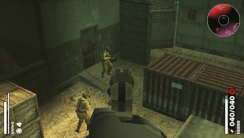 PSP METAL GEAR SOLID PORTABLE OPS 3
