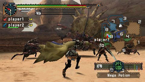 PSP MONSTER HUNTER FREEDOM 2 1