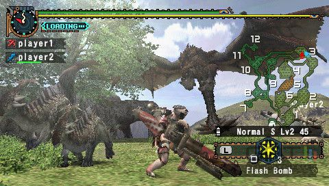 PSP MONSTER HUNTER FREEDOM 2 2