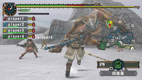 PSP MONSTER HUNTER FREEDOM 2 3
