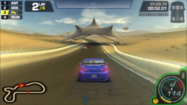 PSP NEED FOR SPEED PROSTREET 2