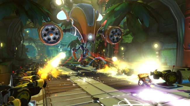 ratchet and clank qforce screen1