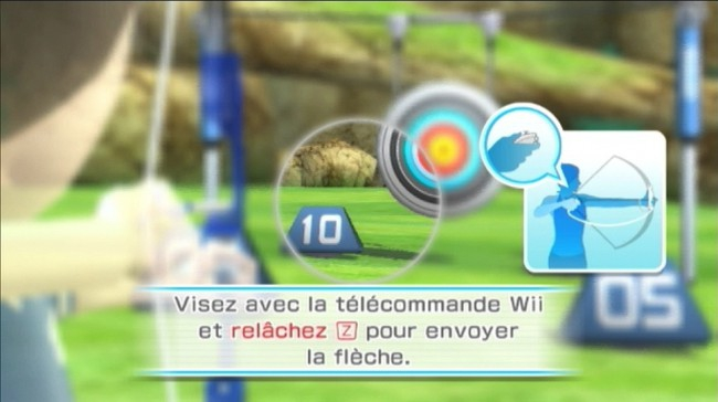 screen 1 wii sports resort wii e4086