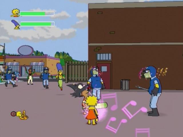 Les simpson le jeu ps2 jeux occasion pas cher gamecash - Jeux de lisa simpson ...