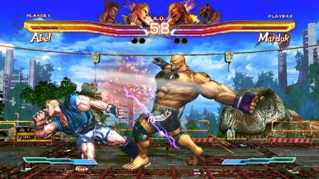 street x tekken screen1