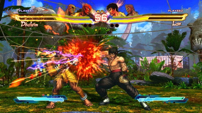 street x tekken screen3 e50023