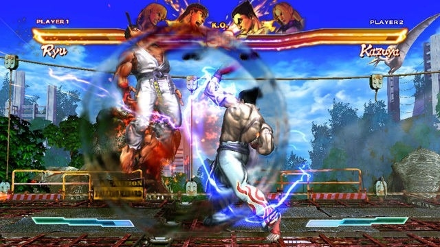 street x tekken screen3