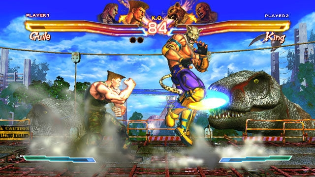 street x tekken screen4