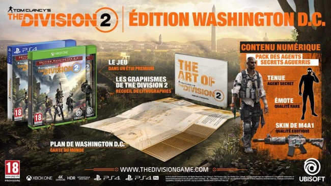 THE DIVISION 2 EDITION WASHINGTON DC