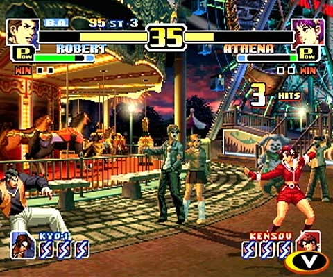 The King of Fighters 99 Evolution in game