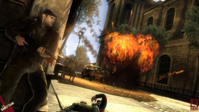 the saboteur PS3 screen 2