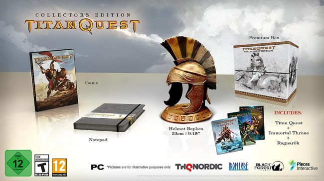 TITAN QUEST EDITION COLLECTOR 1