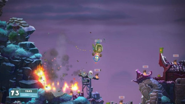 Worms Battlegrounds + Worms Wmd 1